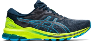 Men's GT-1000 10   French Blue/Digital Aqua   Running Shoes   ASICS