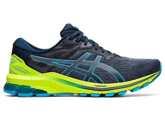 Men's GT-1000 10 | French Blue/Digital Aqua | Running Shoes | ASICS