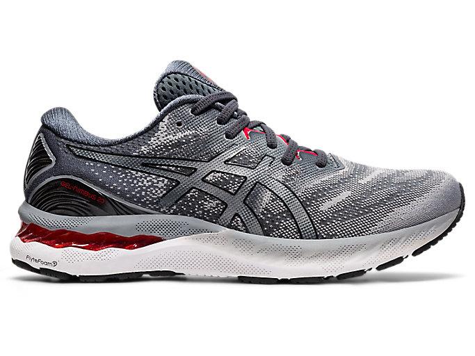 Men's GEL-NIMBUS 23 | Sheet Rock/Black | Running Shoes | ASICS