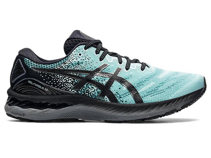 Men's GEL-NIMBUS 23 | Clear Blue/Gunmetal | Running Shoes | ASICS