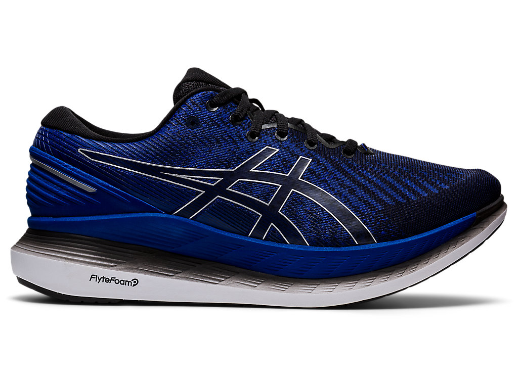 Men's GLIDERIDE 2 | Black/Black | Running Shoes | ASICS