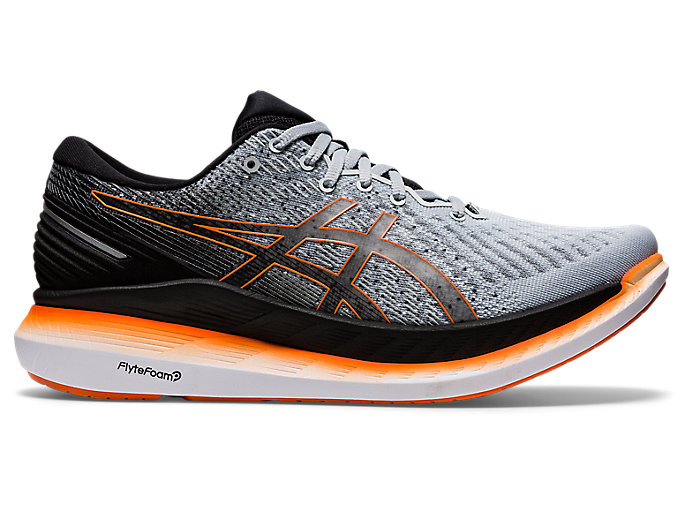 Men's GLIDERIDE 2 | Piedmont Grey/Black | Running Shoes | ASICS