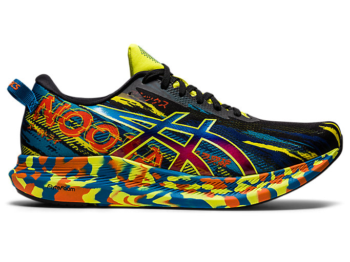 Men's NOOSA TRI 13 | Black/Sour Yuzu | Running Shoes | ASICS