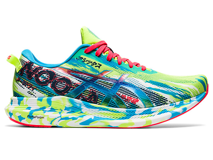 Men's NOOSA TRI 13 | Hazard Green/Digital Aqua | Running Shoes | ASICS
