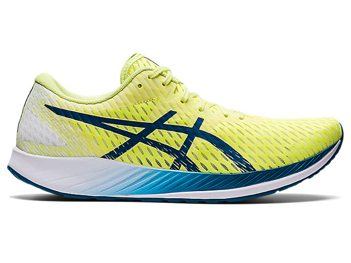 Men's HYPER SPEED | Glow Yellow/Deep Sea Teal | Run Faster | ASICS