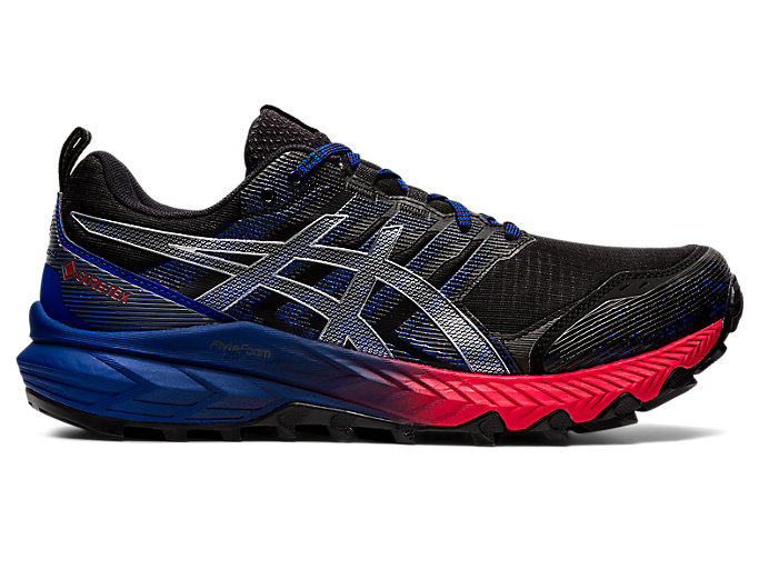 Men's GEL-Trabuco 9 G-TX | Black/Pure Silver | Trail Running | ASICS