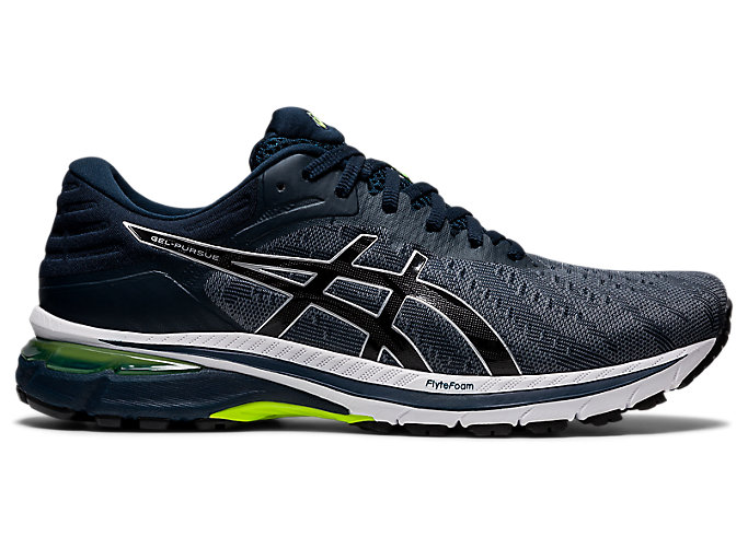 Men's GEL-PURSUE 7 (2E WIDE)   French Blue/Pure Silver   Running ...
