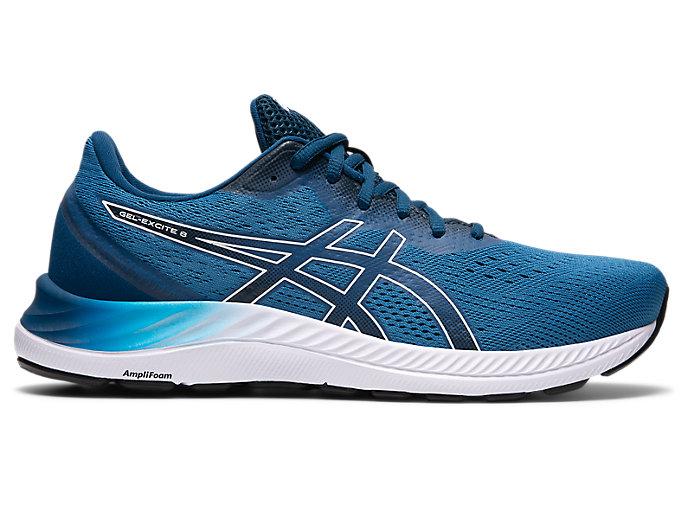 Men's GEL-EXCITE 8 | Reborn Blue/White | Running Shoes | ASICS