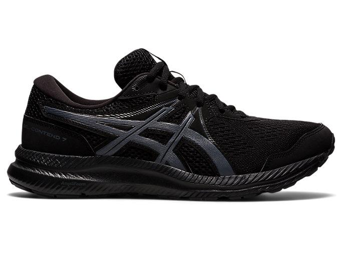 Men's GEL-CONTEND 7   Black/Carrier Grey   Running Shoes   ASICS