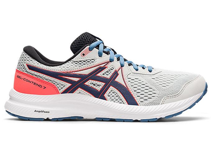Men's GEL-CONTEND 7   Glacier Grey/Thunder Blue   Running Shoes ...