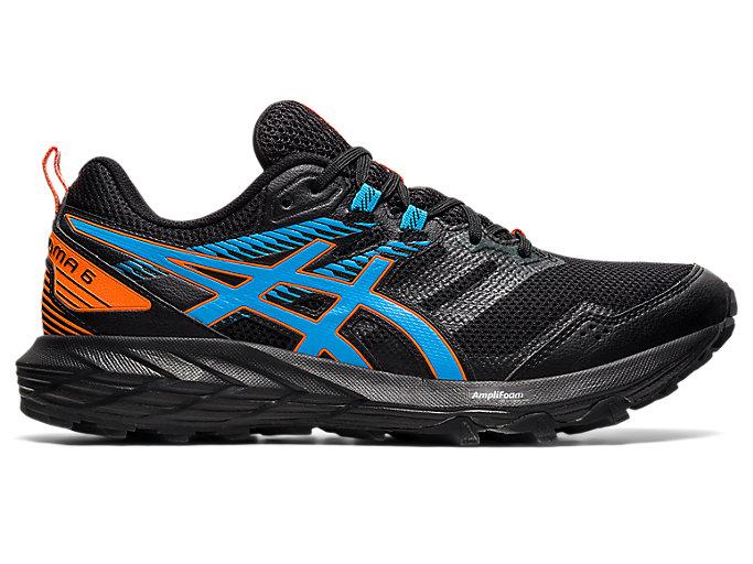 Men's GEL-SONOMA 6 | Black/Digital Aqua | Trail Running | ASICS