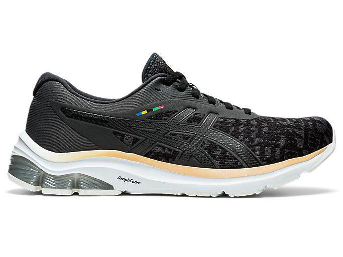 Men's GEL-PULSE 12 | Black/Graphite Grey | Running Shoes | ASICS