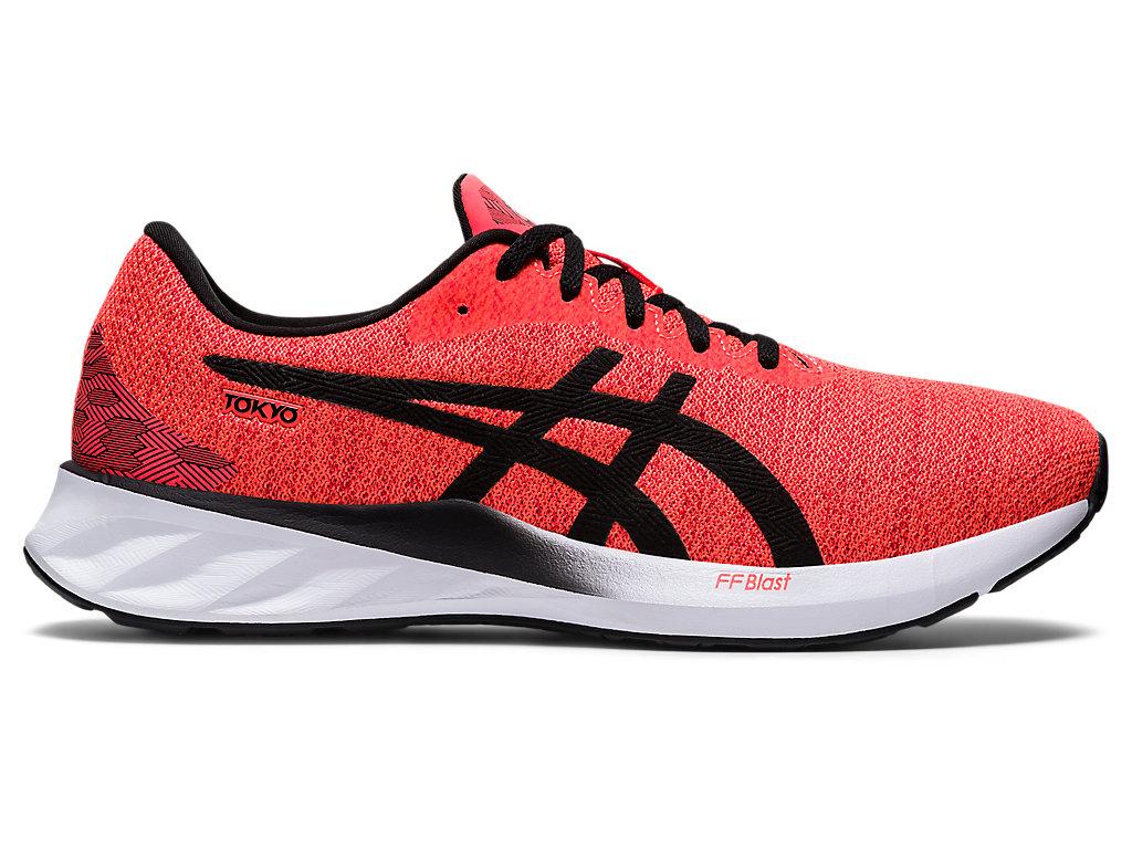 Men's ROADBLAST | Sunrise Red/White | Running Shoes | ASICS