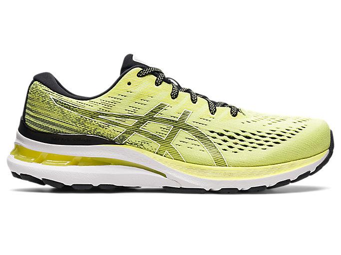 Men's GEL-KAYANO 28 | Glow Yellow/White | Running Shoes | ASICS