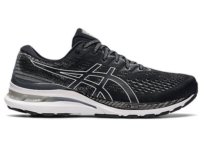 Men's GEL-KAYANO 28 (4E) | Black/White | Running Shoes | ASICS
