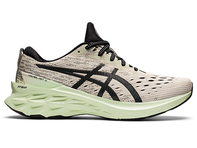 Men's NOVABLAST 2 | Birch/Black | Running Shoes | ASICS