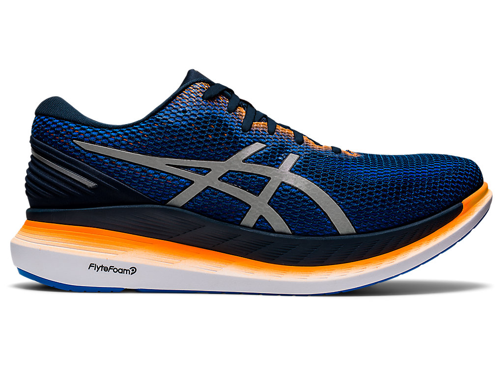 Men's GlideRide 2 LITE-SHOW | French Blue/Pure Silver | Running ...