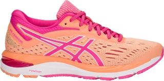 purple asics running shoes