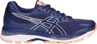 asics gel-pulse 10 women's running shoes blue print eventos