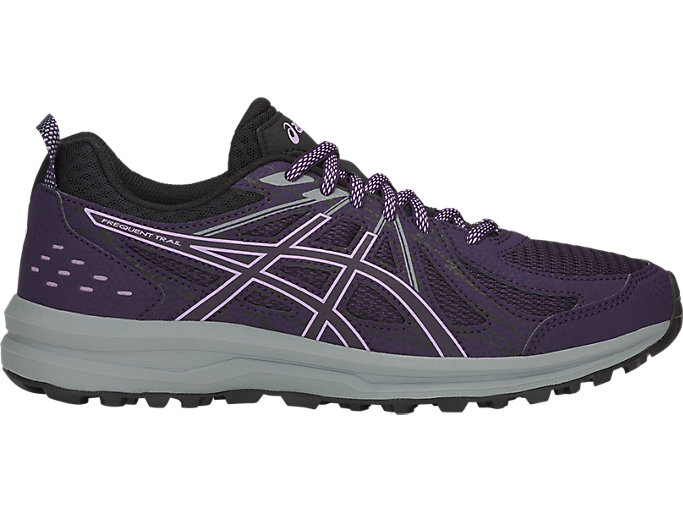 Women's Frequent Trail | Night Shade/Black | Running Shoes | ASICS