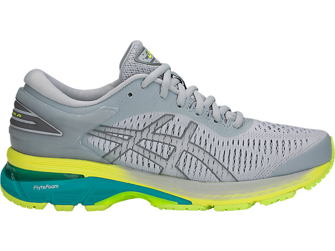 Alternative image view of GEL-KAYANO 25, MID GREY/CARBON