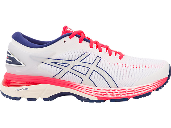 Women's GEL-KAYANO 25 | WHITE/WHITE | Running | ASICS Outlet