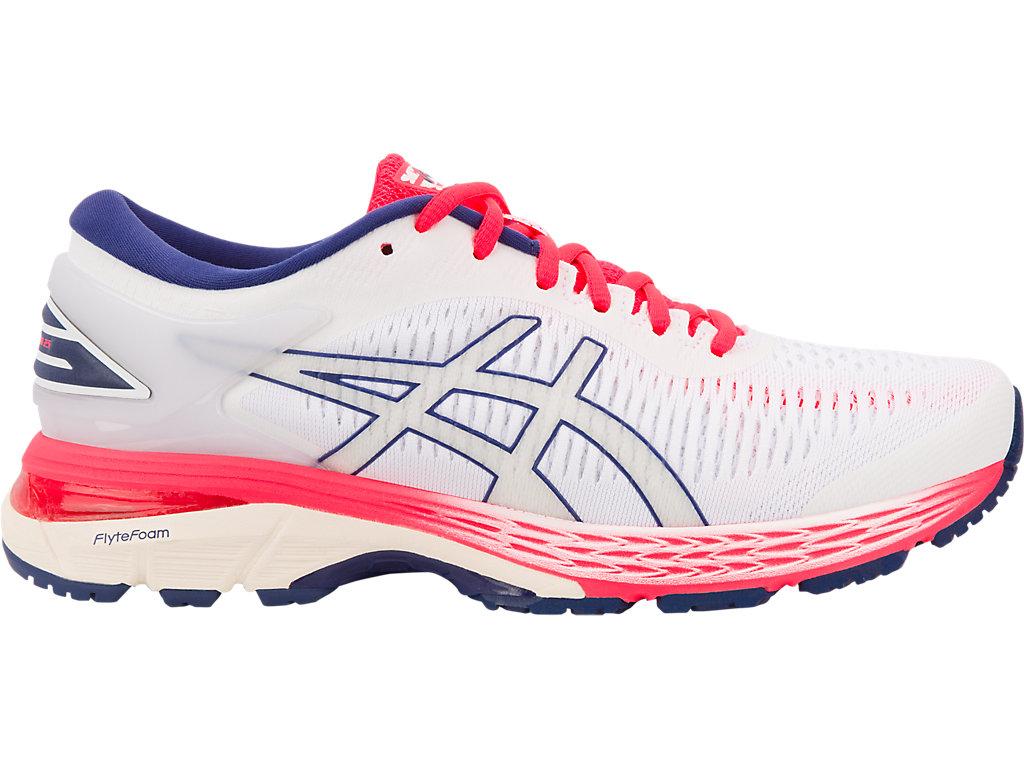 Women S Gel Kayano 25 White White Running Asics Outlet