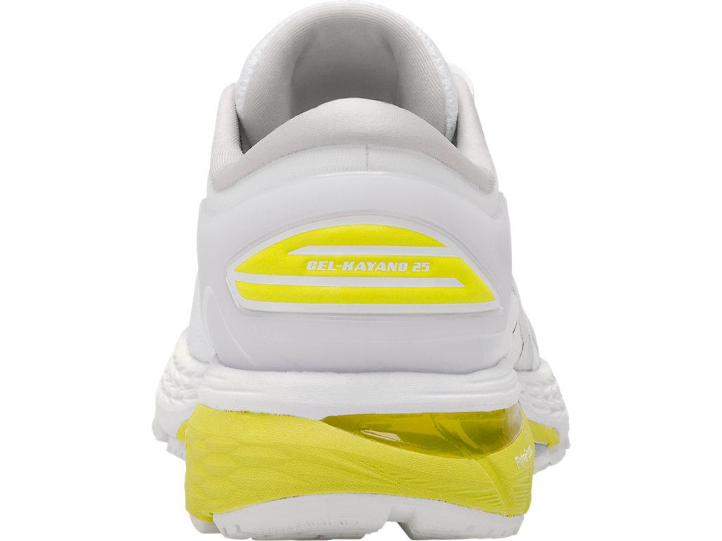 Women's GEL-Kayano 25   White/Lemon Spark   Running Shoes   ASICS