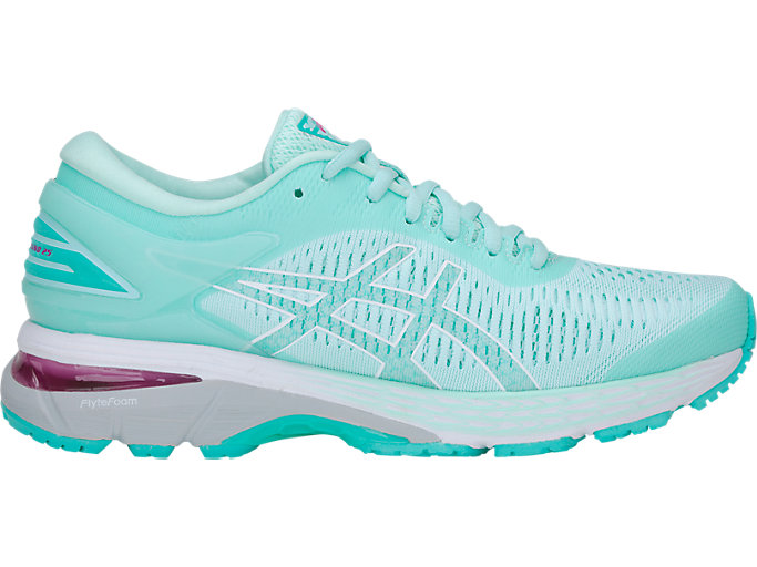 Women's GEL-KAYANO 25 | ICY MORNING/SEA GLASS | Running ...