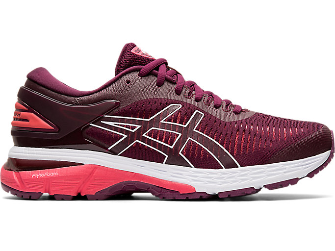 Alternative image view of GEL-KAYANO 25, ROSELLE/PINK CAMEO