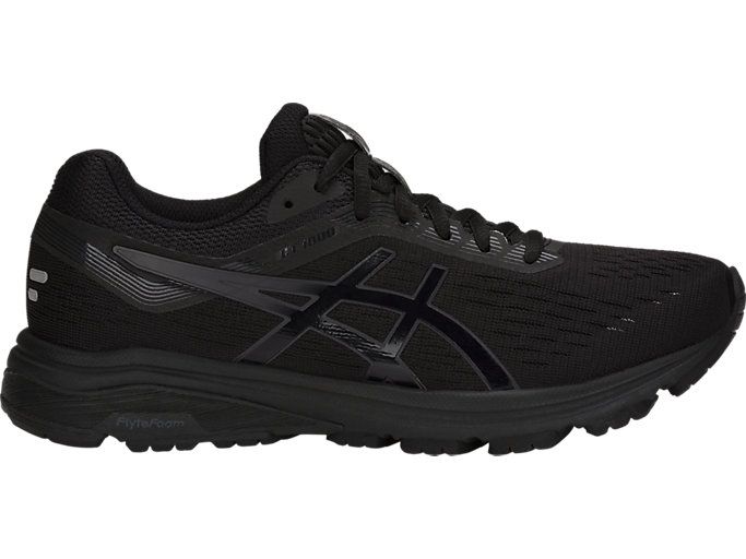 bota estera cojo  Women's GT-1000 7 | Black/Phantom | Running Shoes | ASICS