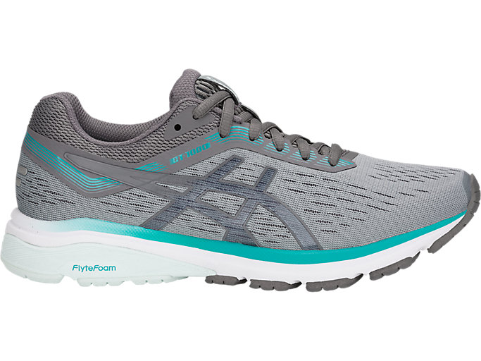 Women's GT-1000 7 | Stone Grey/Carbon | Running Shoes | ASICS