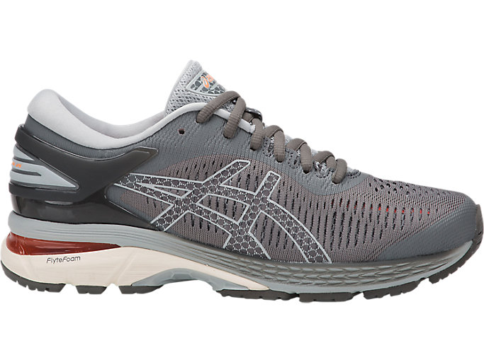 Women's GEL-KAYANO 25 WIDE   Carbon/Mid Grey   Running Shoes   ASICS