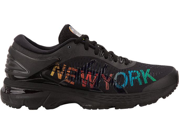 Alternative image view of GEL-KAYANO 25 NYC, BLACK/BLACK