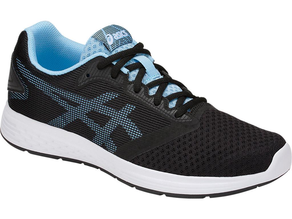 Women's Patriot 10   Black/Skylight   Running Shoes   ASICS