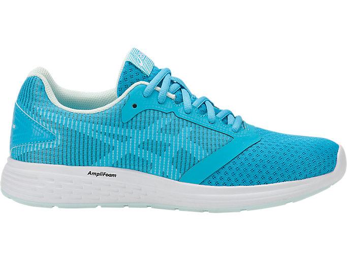 Women's Patriot 10 | Aquarium/Flash Yellow | Running Shoes | ASICS