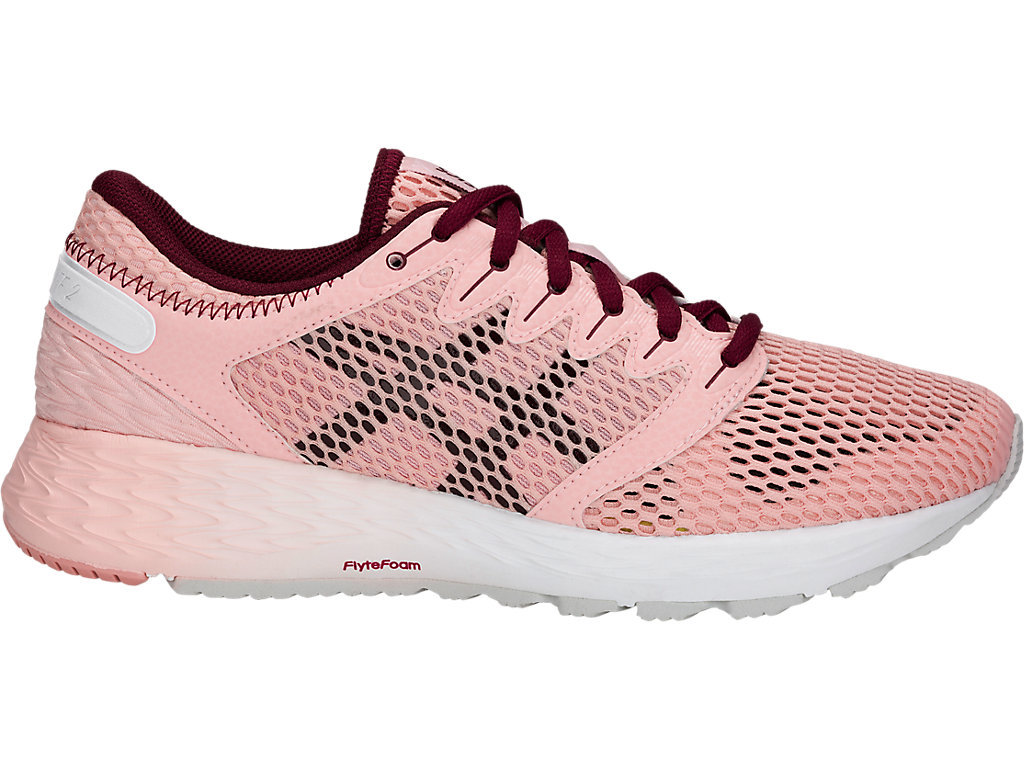 Women's ROADHAWK FF 2 | Frosted Rose/Cordovan | Running Shoes | ASICS