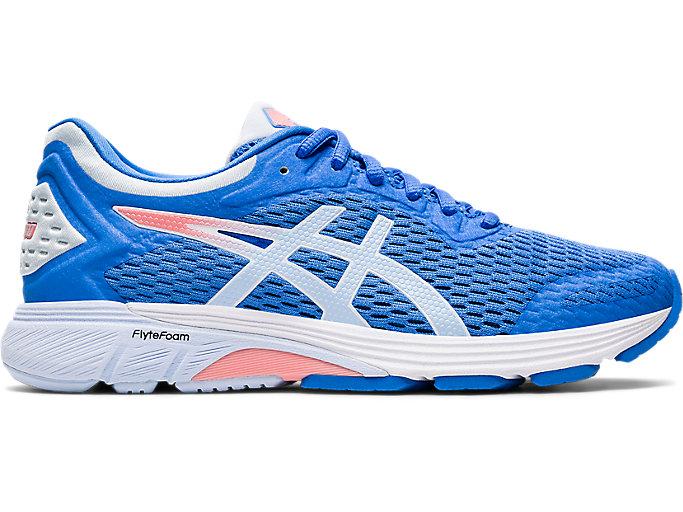 Women's GT-4000 WIDE   Blue Coast/Soft Sky   Running Shoes   ASICS