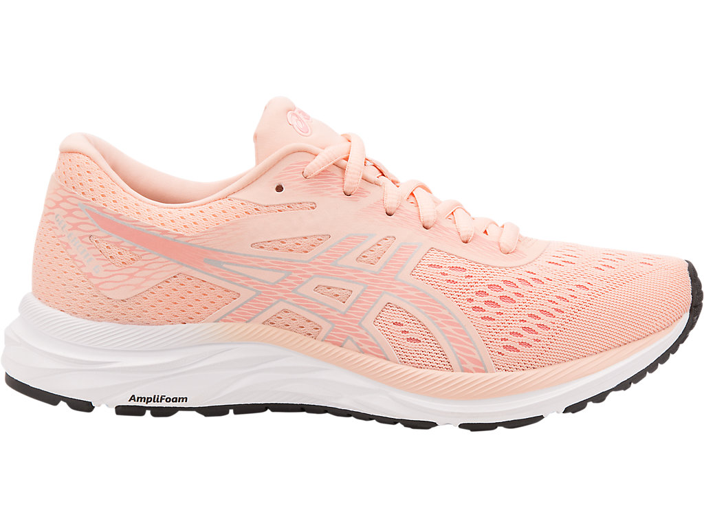 Women's GEL-EXCITE 6   Baked Pink/Silver   Running Shoes   ASICS