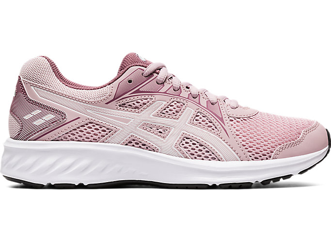 Pink Sports Breathable Asics Womens Jolt 2 Running Shoes Trainers Sneakers