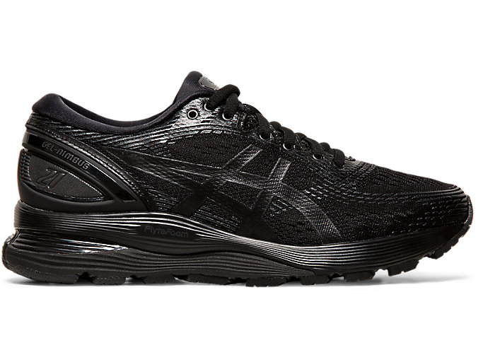Women's GEL-NIMBUS 21 | BLACK/BLACK | Running | ASICS Outlet
