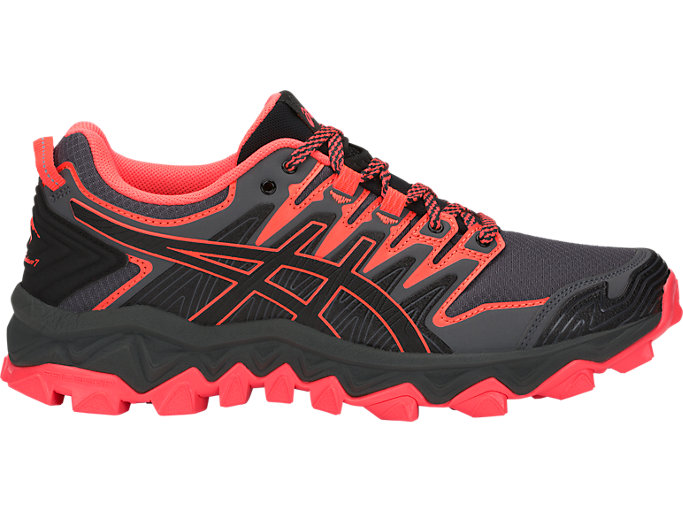 Unisex GEL-FujiTrabuco 7 | BLACK/FLASH CORAL | Hasta 50% en ...
