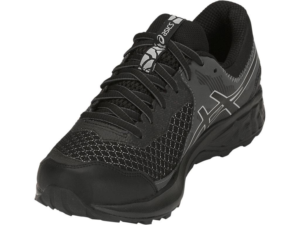 Men's GEL-SONOMA 4 G-TX | Black/Stone Grey | Trail | ASICS Outlet