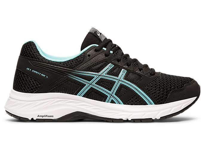 Alternative image view of GEL-CONTEND 5, Black/Ice Mint