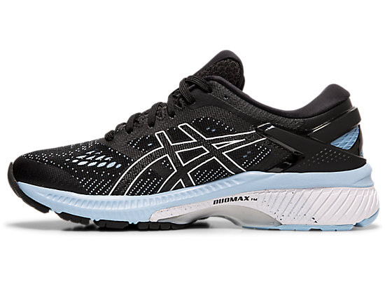 GEL-KAYANO 26 BLACK/HERITAGE BLUE