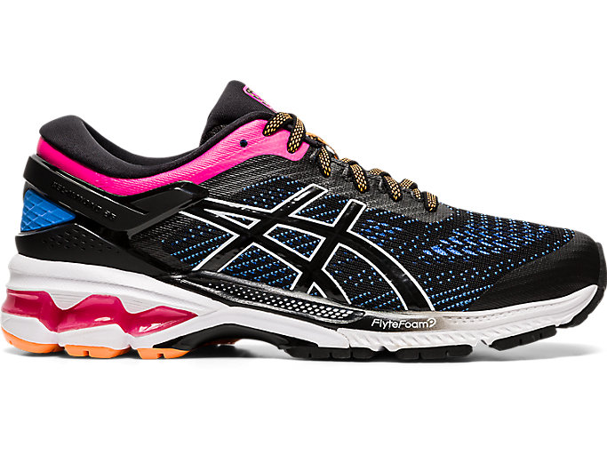 Alternative image view of GEL-KAYANO™ 26, Black/Blue Coast