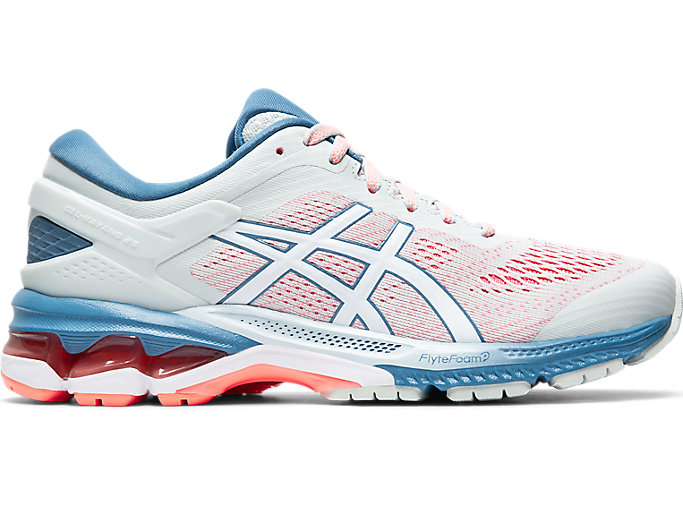 Alternative image view of GEL-KAYANO 26, POLAR SHADE/WHITE