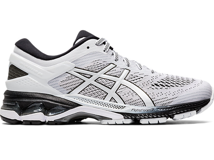 Alternative image view of GEL-KAYANO 26, WHITE/BLACK