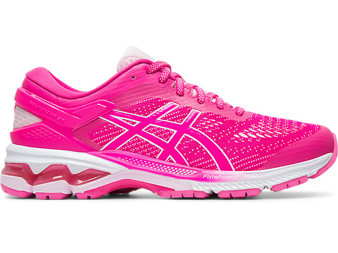 Alternative image view of GEL-KAYANO™ 26, PINK GLO/COTTON CANDY