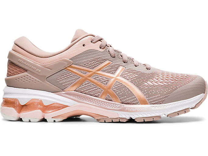 Alternative image view of GEL-KAYANO™ 26, FAWN/ROSE GOLD